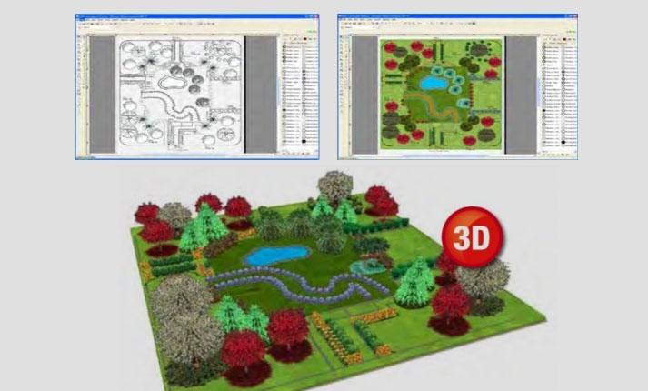 Progettazione giardini software